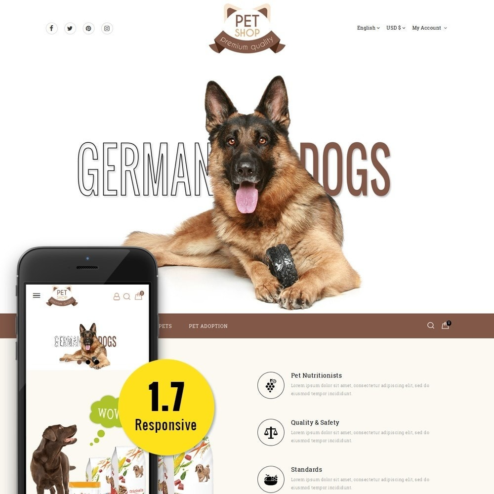 theme - Animali - Pet Store - 1