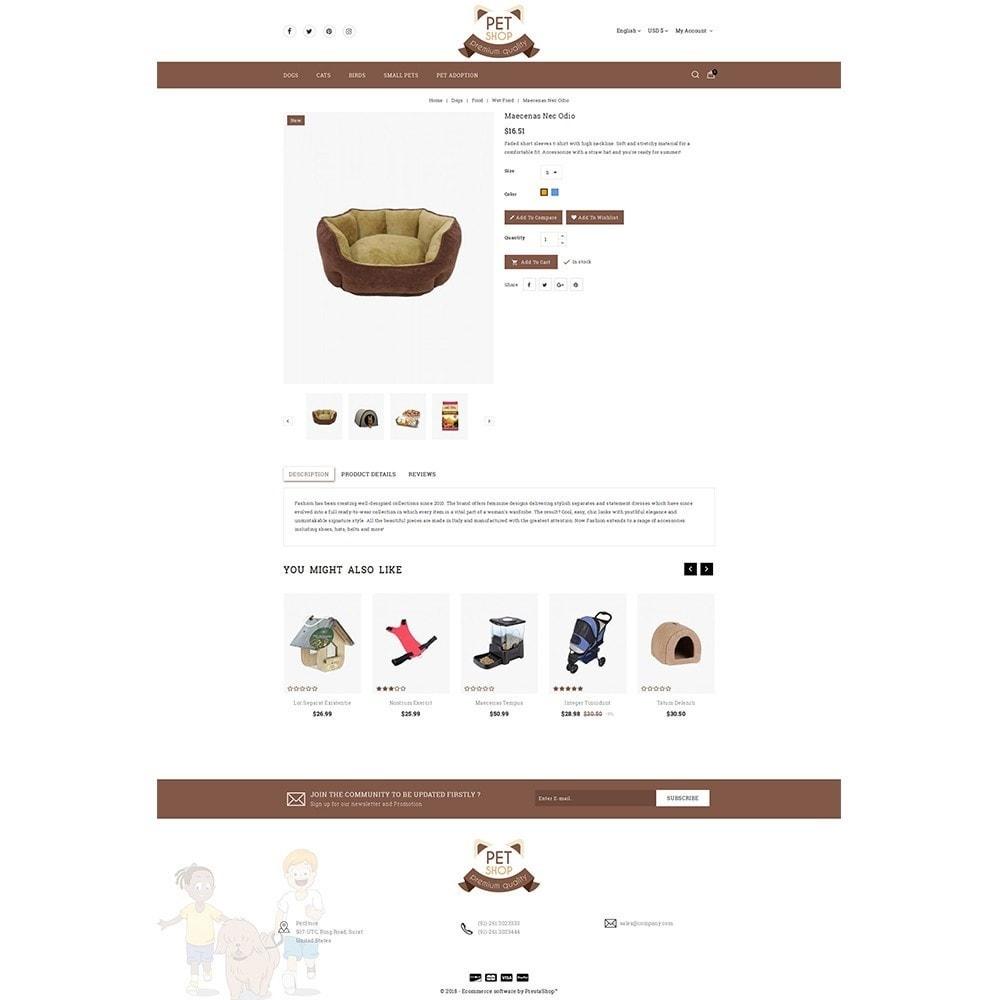 theme - Животные и домашние питомцы - Pet Store - 5