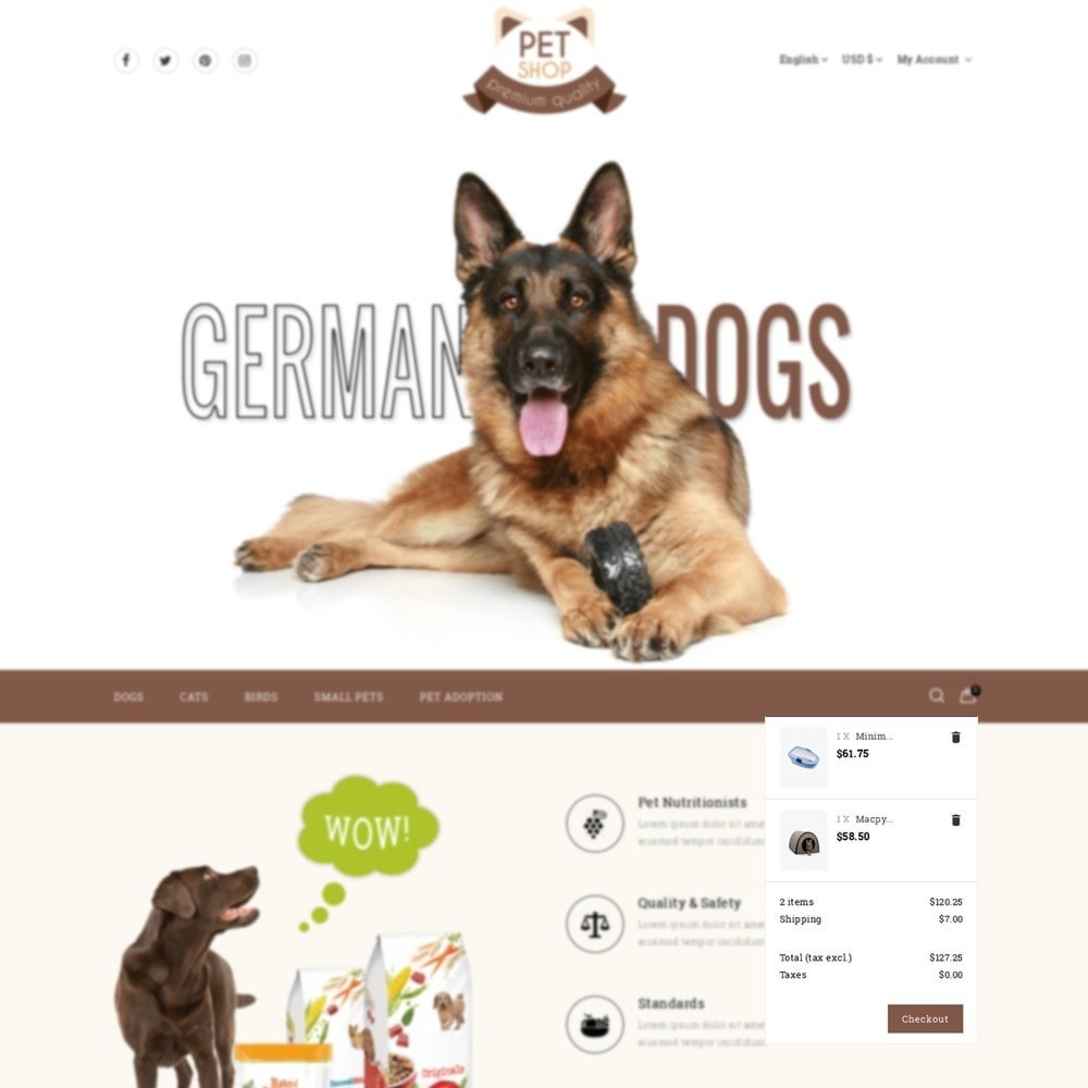 theme - Animali - Pet Store - 8