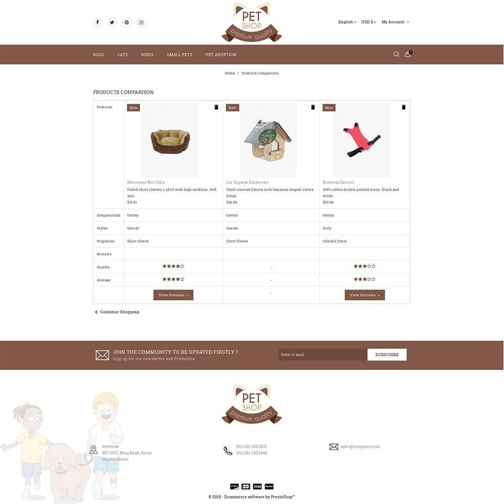 theme - Животные и домашние питомцы - Pet Store - 9