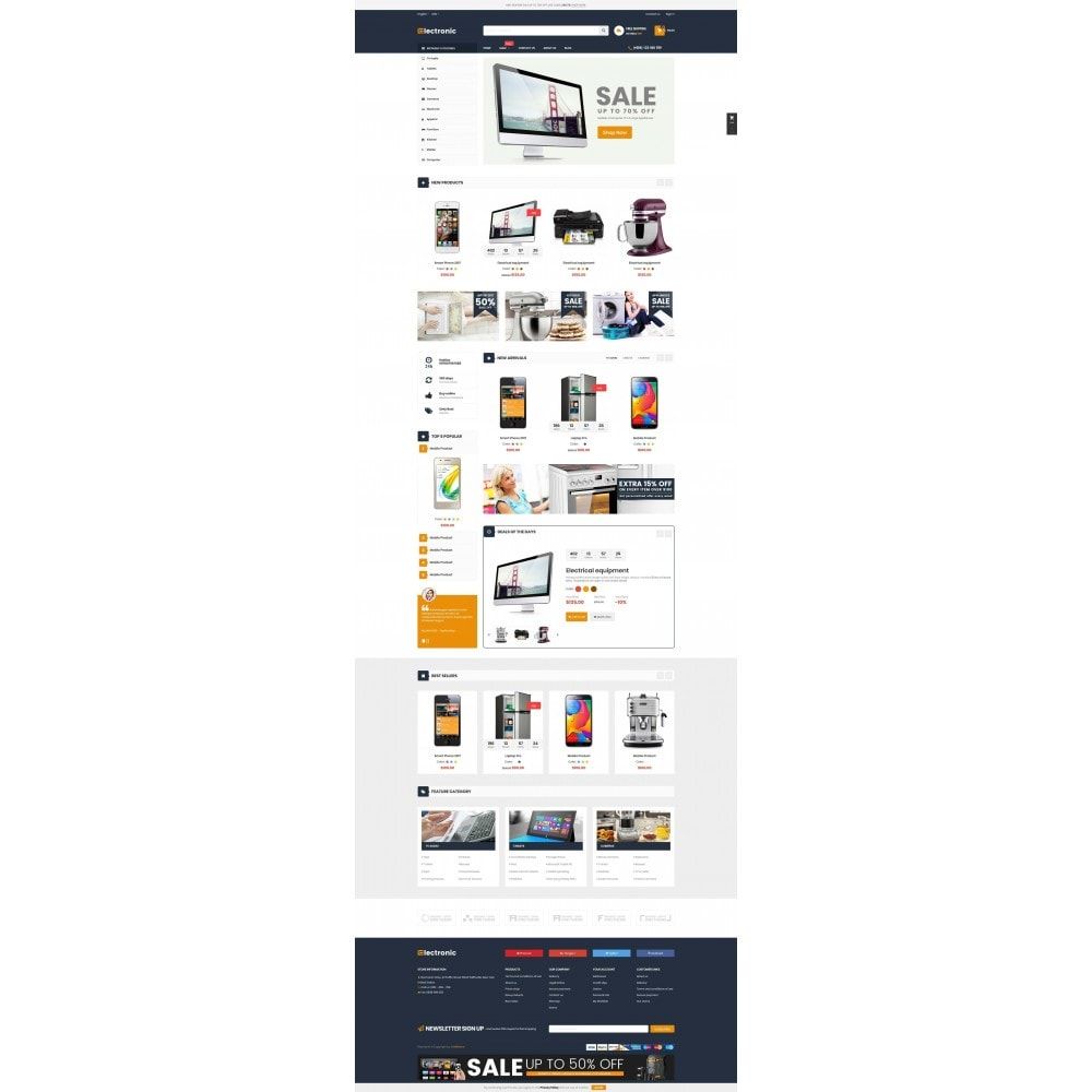theme - Elektronik & High Tech - Supermarket Online Store - 2