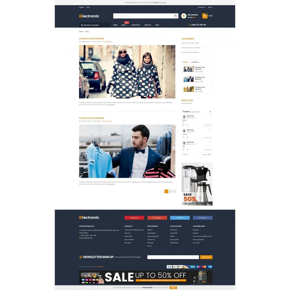 theme - Elettronica & High Tech - Supermarket Online Store - 5