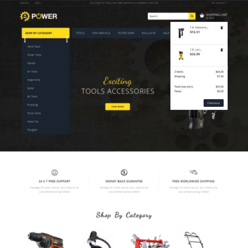 theme - Electronics & Computers - PowerTools Store - 8