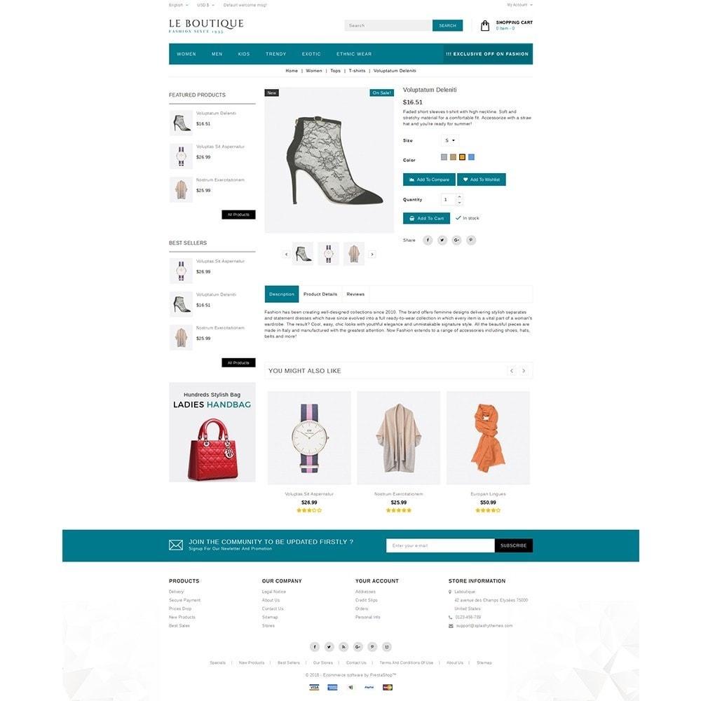 theme - Fashion & Shoes - Leboutique Store - 5