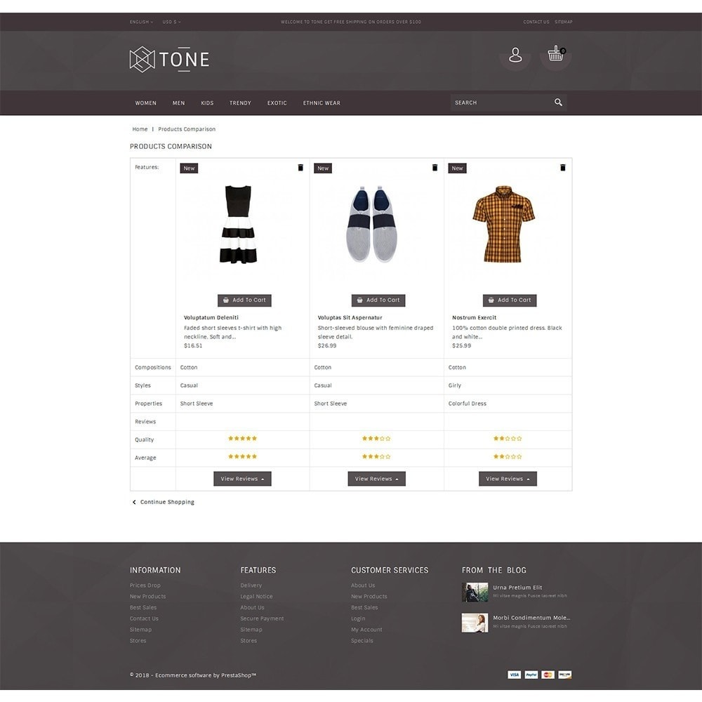 theme - Mode & Schuhe - Tone Fashion Store - 9