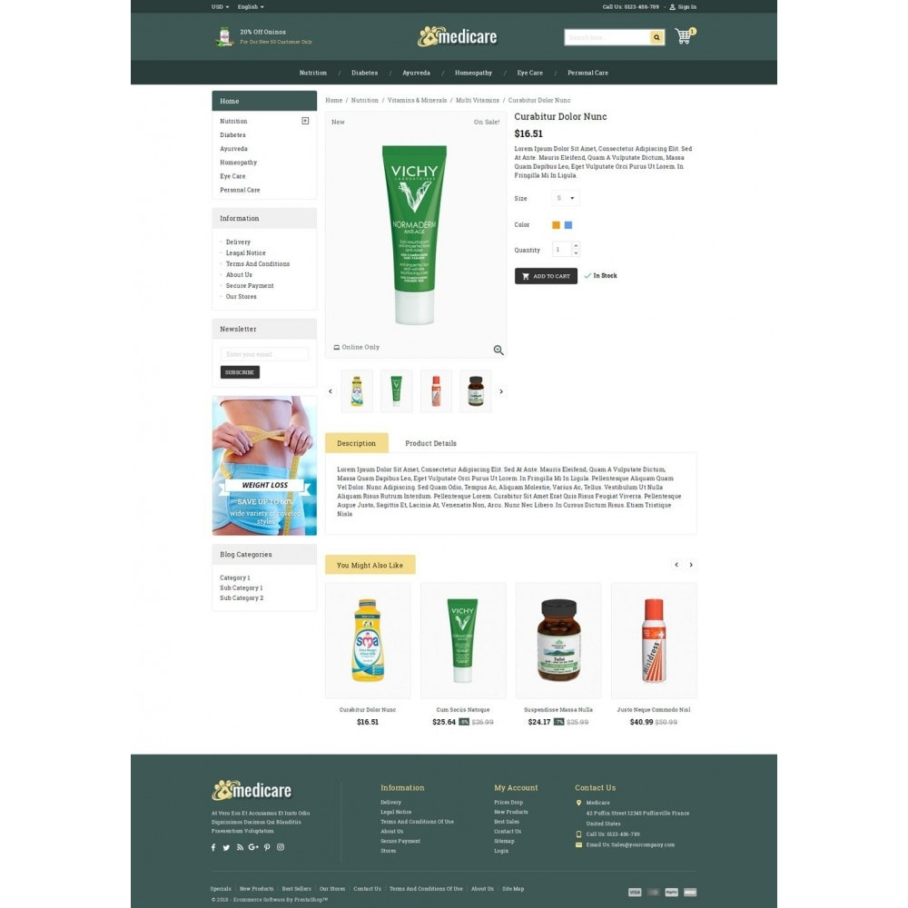theme - Health & Beauty - Medicare & Beauty Shop - 4