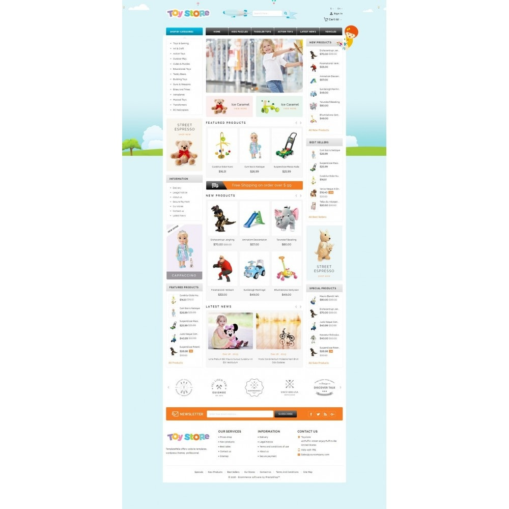 theme - Bambini & Giocattoli - Kids & Toys Shop - 2
