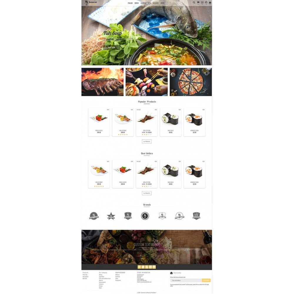 theme - Eten & Restaurant - Restaurant Food - 2