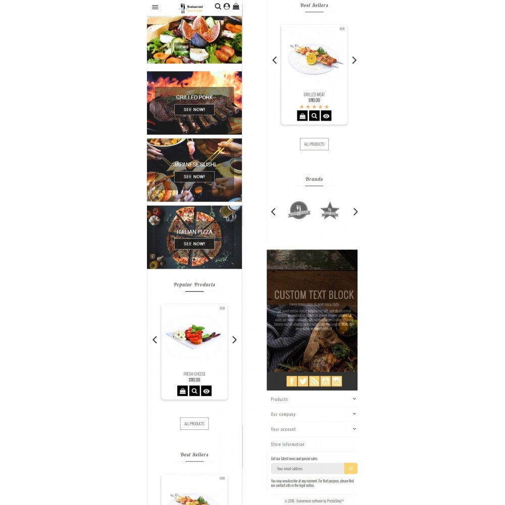theme - Eten & Restaurant - Restaurant Food - 6