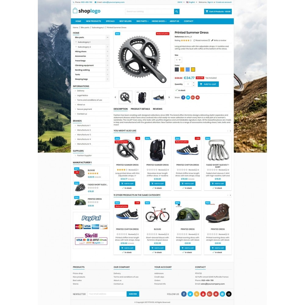 theme - Sport, Aktivitäten & Reise - P17AT03 Bikes, sport and travel store - 4