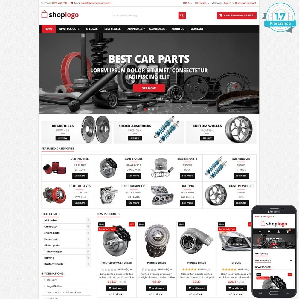 theme - Auto's & Motoren - P17AT11 Car spare parts and tools - 1