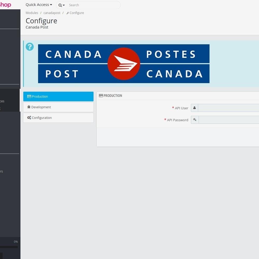 module - Transporteurs - Canada Post - 1