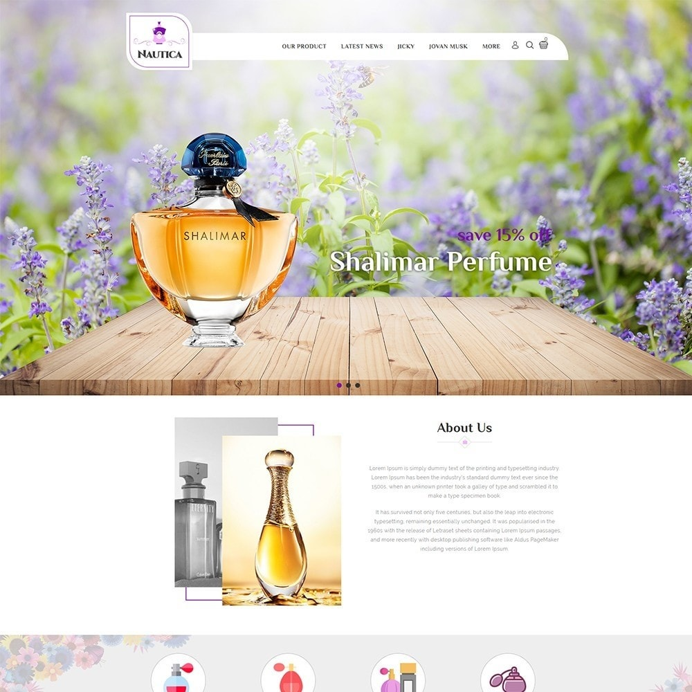 theme - Health & Beauty - Nautica Perfume Store - 2