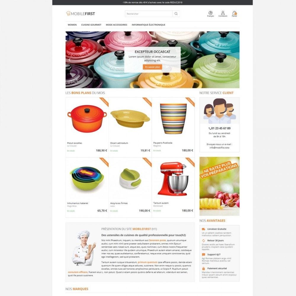 theme - Lebensmittel & Restaurants - Mobilefirst - 4