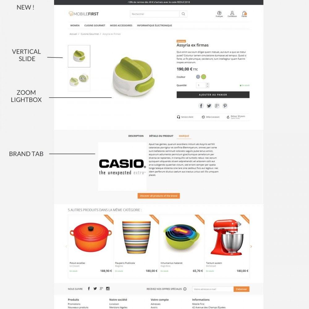 theme - Lebensmittel & Restaurants - Mobilefirst - 7