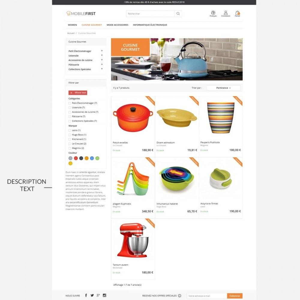 theme - Alimentation & Restauration - Mobilefirst - 6