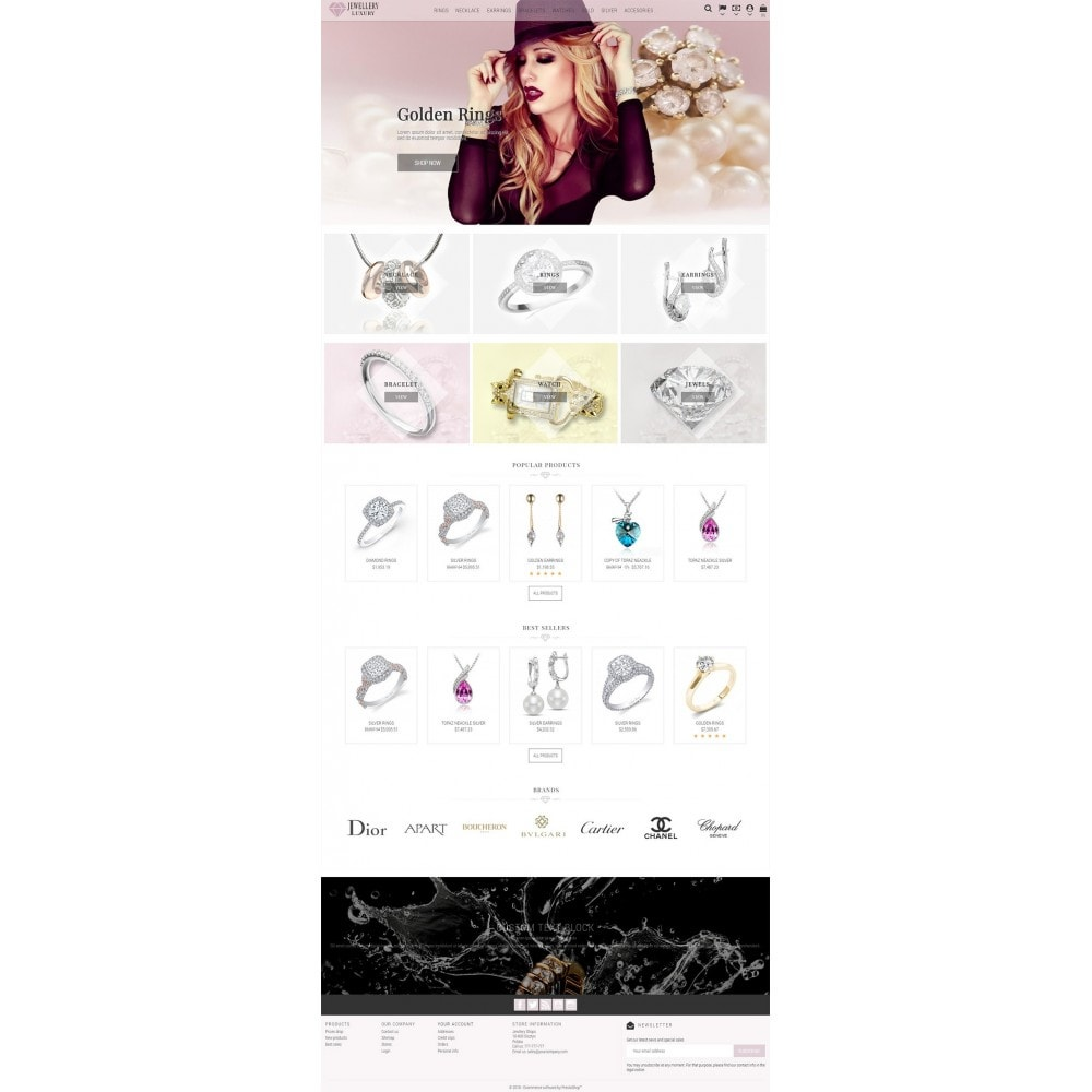 theme - Bellezza & Gioielli - Jewellery Luxury - 2