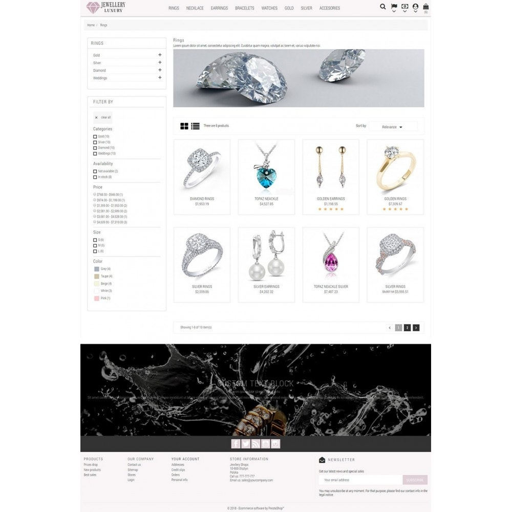 theme - Jewelry & Accessories - Jewellery Luxury - 4