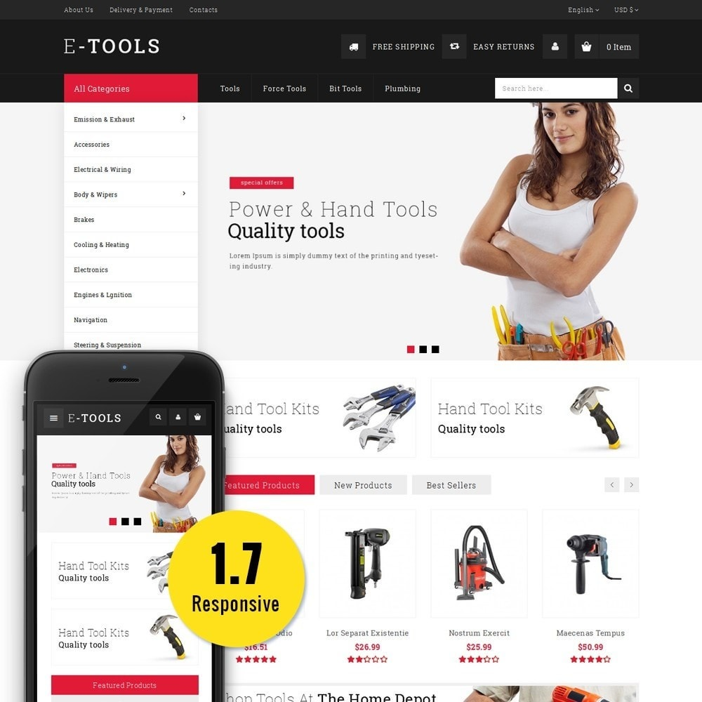 theme - Coches y Motos - Etools Store - 1