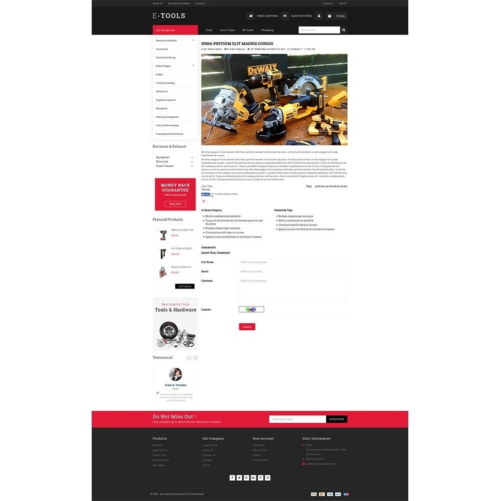 theme - Coches y Motos - Etools Store - 6