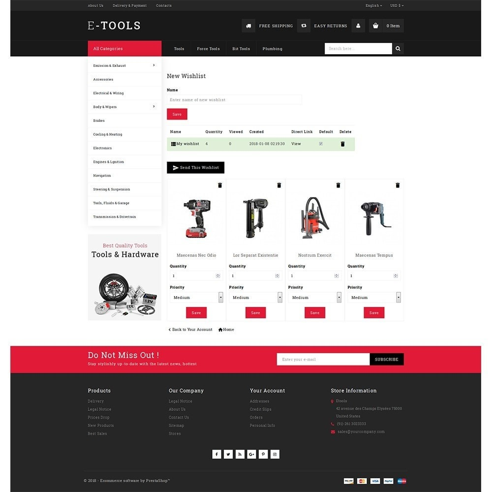 theme - Coches y Motos - Etools Store - 10