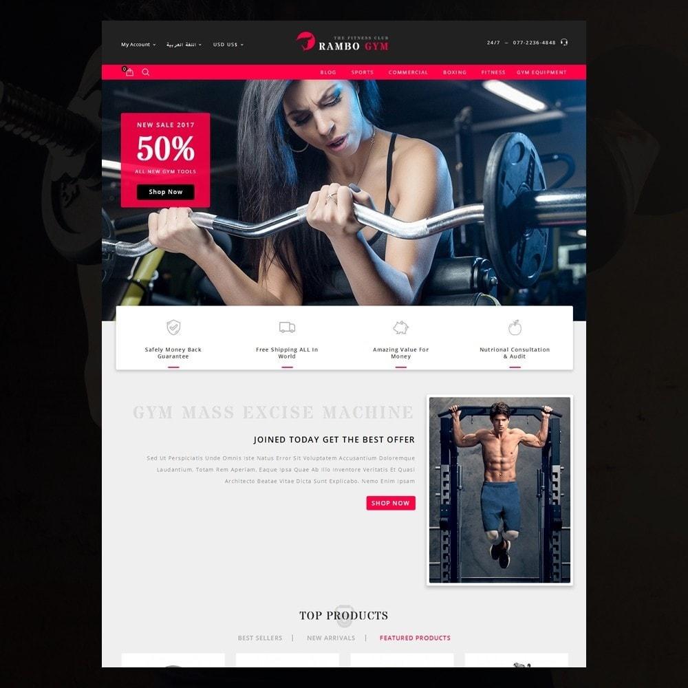 theme - Здоровье и красота - Rambo Gym - Fitness - 12