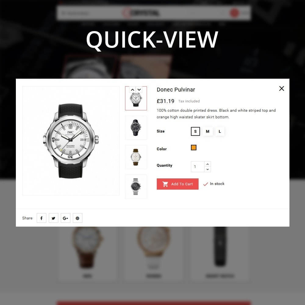 theme - Elektronika & High Tech - Crystal Watch Store - 14
