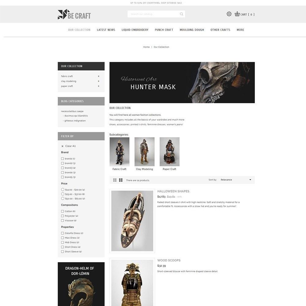 theme - Art & Culture - BeCraft Art Store - 5