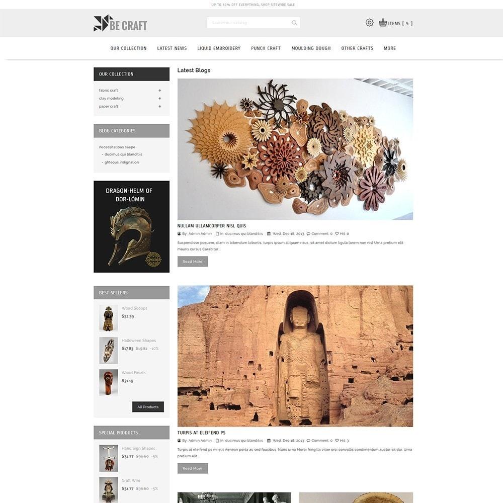 theme - Art & Culture - BeCraft Art Store - 7