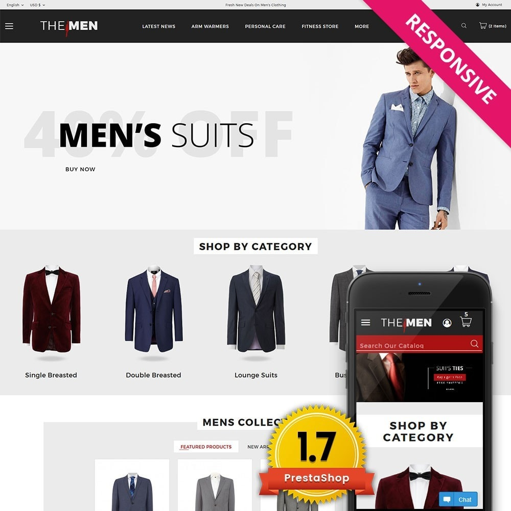 theme - Moda & Obuwie - TheMan Fashion Store - 1