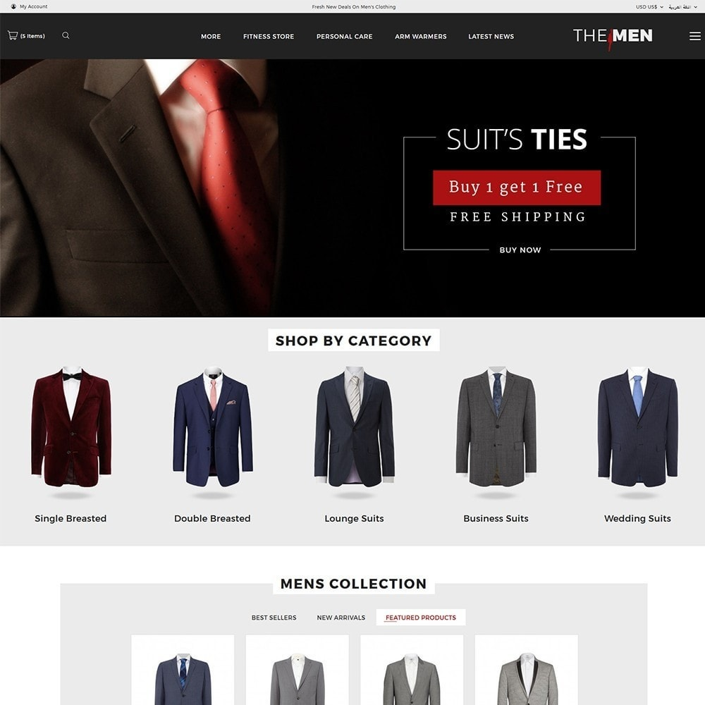 theme - Moda & Obuwie - TheMan Fashion Store - 3