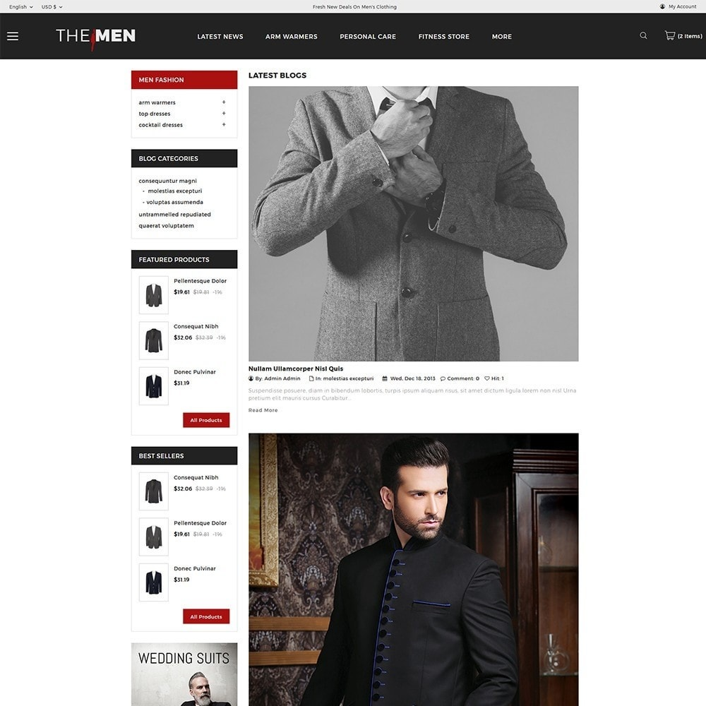 theme - Moda & Obuwie - TheMan Fashion Store - 7
