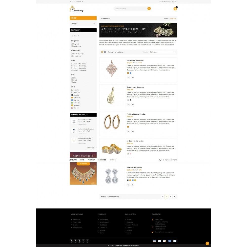 theme - Biżuteria & Akcesoria - Preciousy Jewelry Store - 4