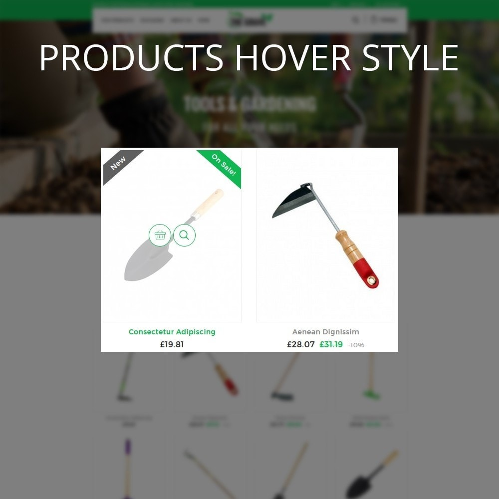 theme - Casa & Jardins - The Grave Gardening Tools - 11