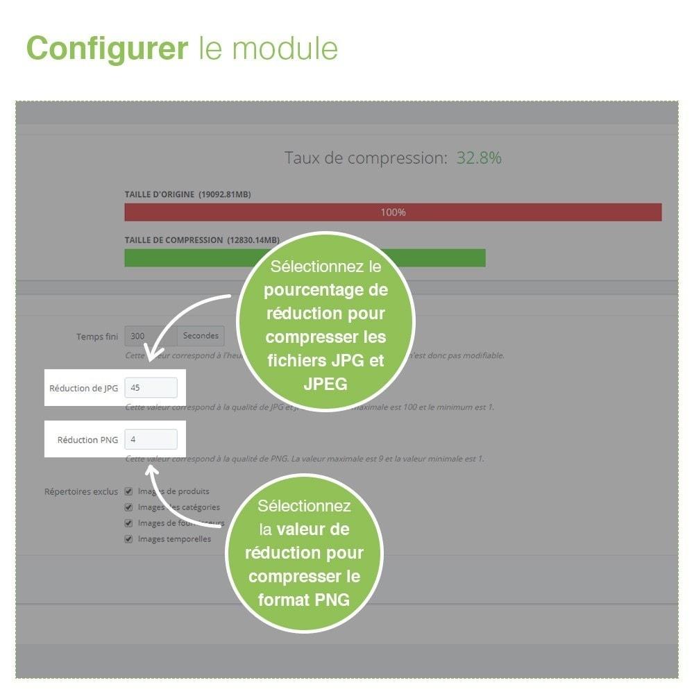 module - SEO (référencement naturel) - Image Compressor - Maximisez la Vitesse du Site - 3
