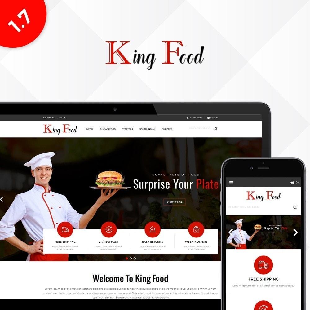 theme - Gastronomía y Restauración - King Food Store - 1