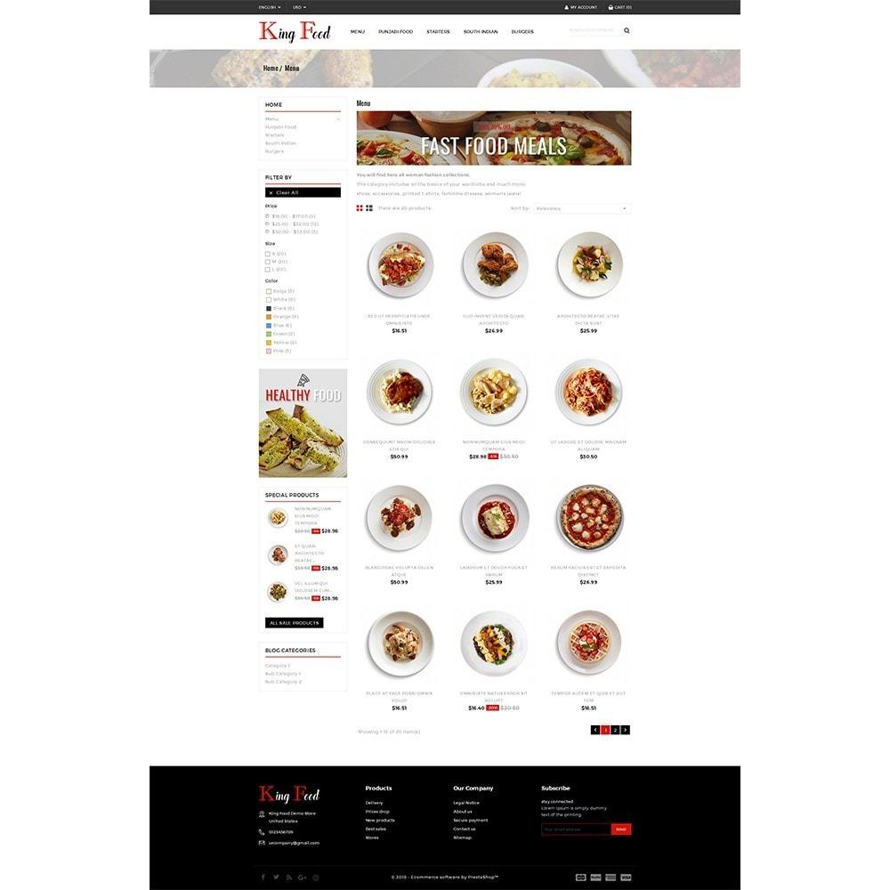 theme - Gastronomía y Restauración - King Food Store - 3