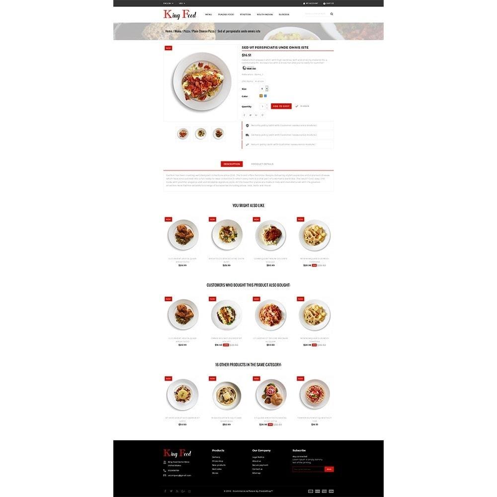 theme - Gastronomía y Restauración - King Food Store - 5