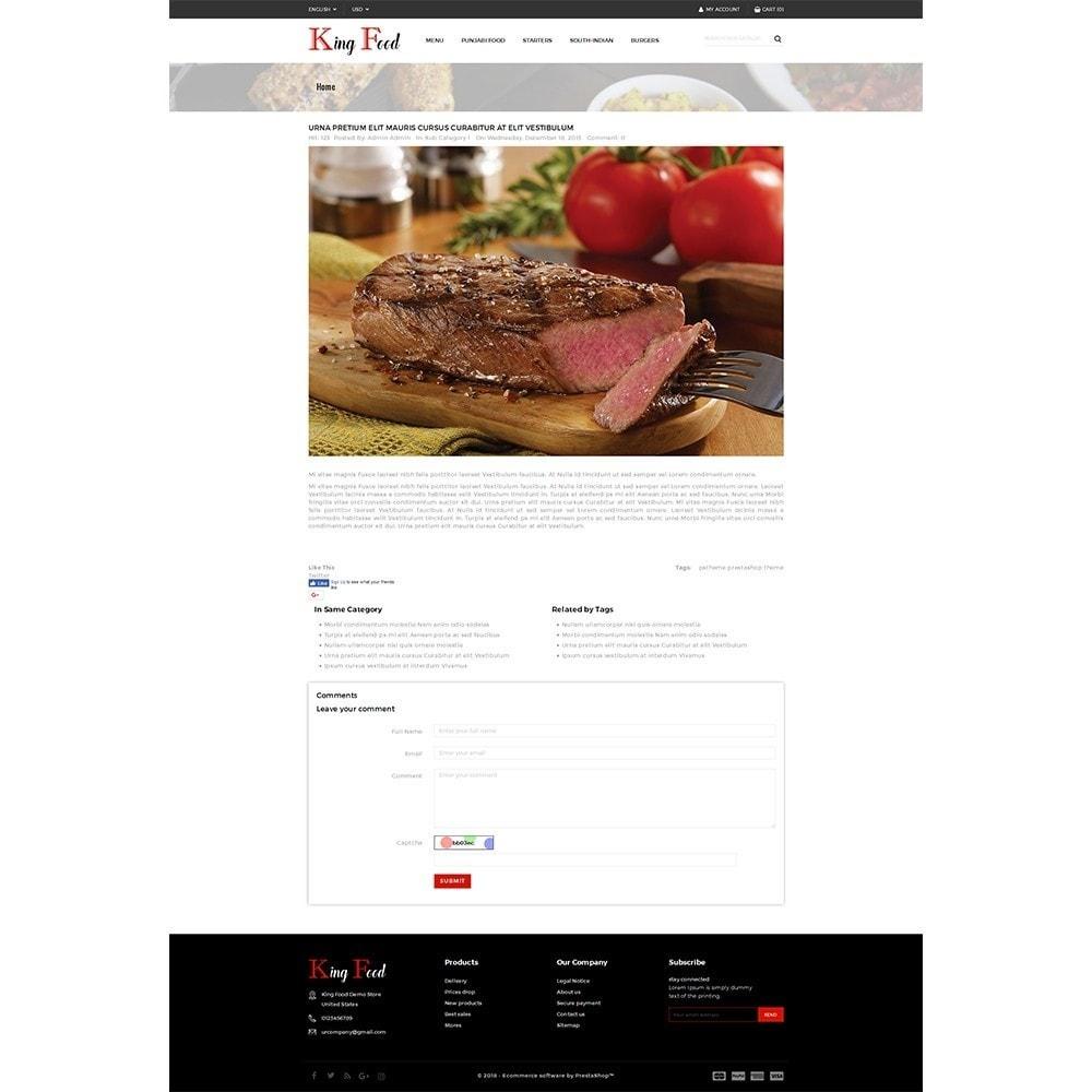 theme - Gastronomía y Restauración - King Food Store - 6