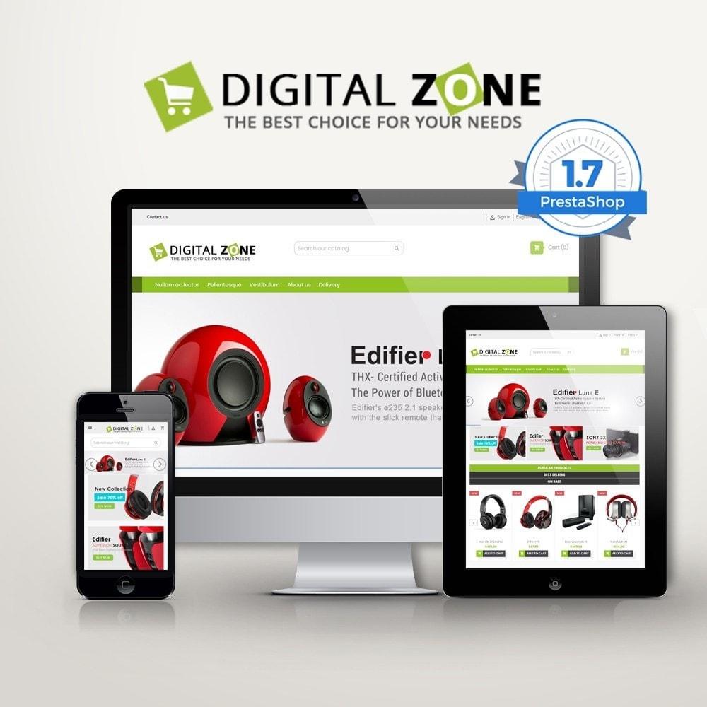 theme - Electrónica e High Tech - Digitalzone Multi-purpose HTML5 - 1