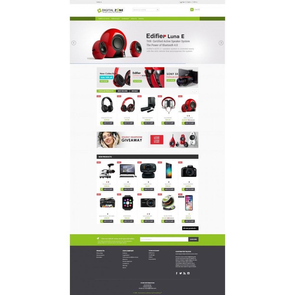 theme - Elektronica & High Tech - Digitalzone Multi-purpose HTML5 - 2