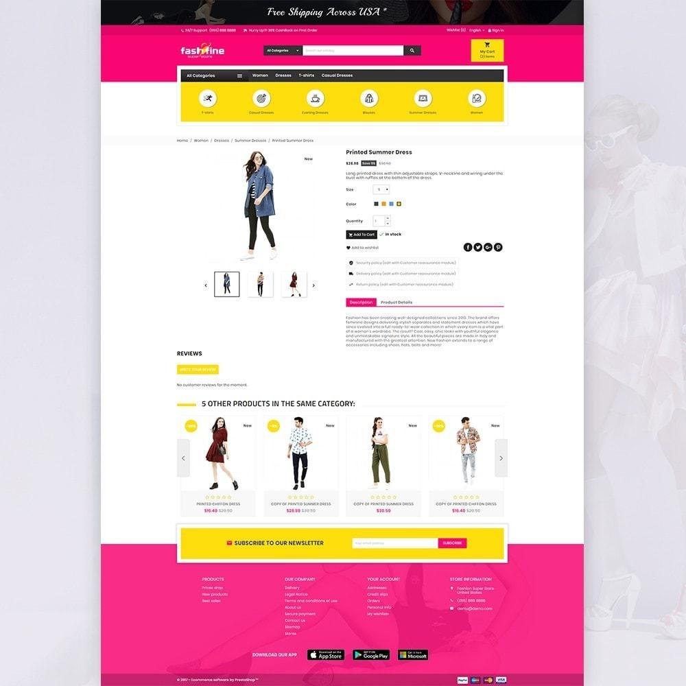 theme - Мода и обувь - FashFine–Fashion and LifeStyle Accessories Super Store - 4