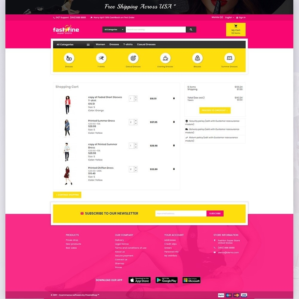 theme - Fashion & Shoes - FashFine–Fashion and LifeStyle Accessories Super Store - 5