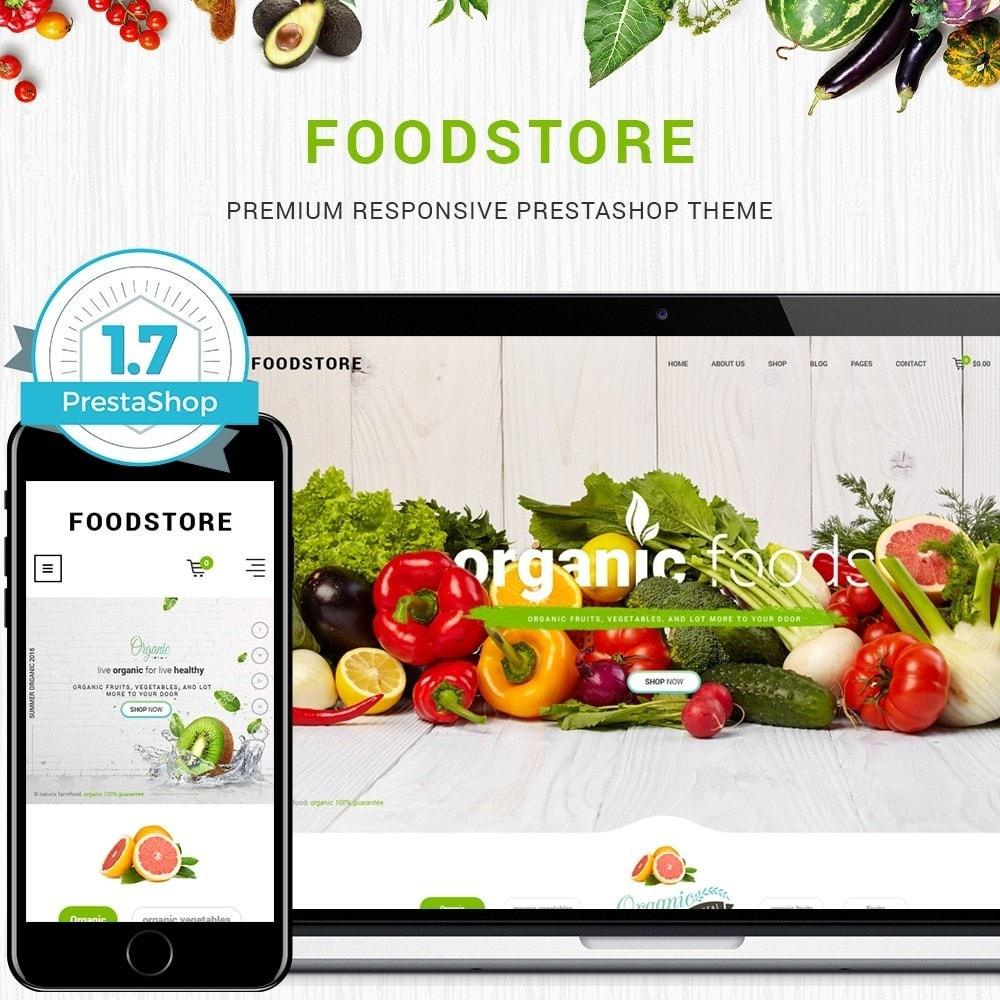 theme - Żywność & Restauracje - FoodStore II - 1