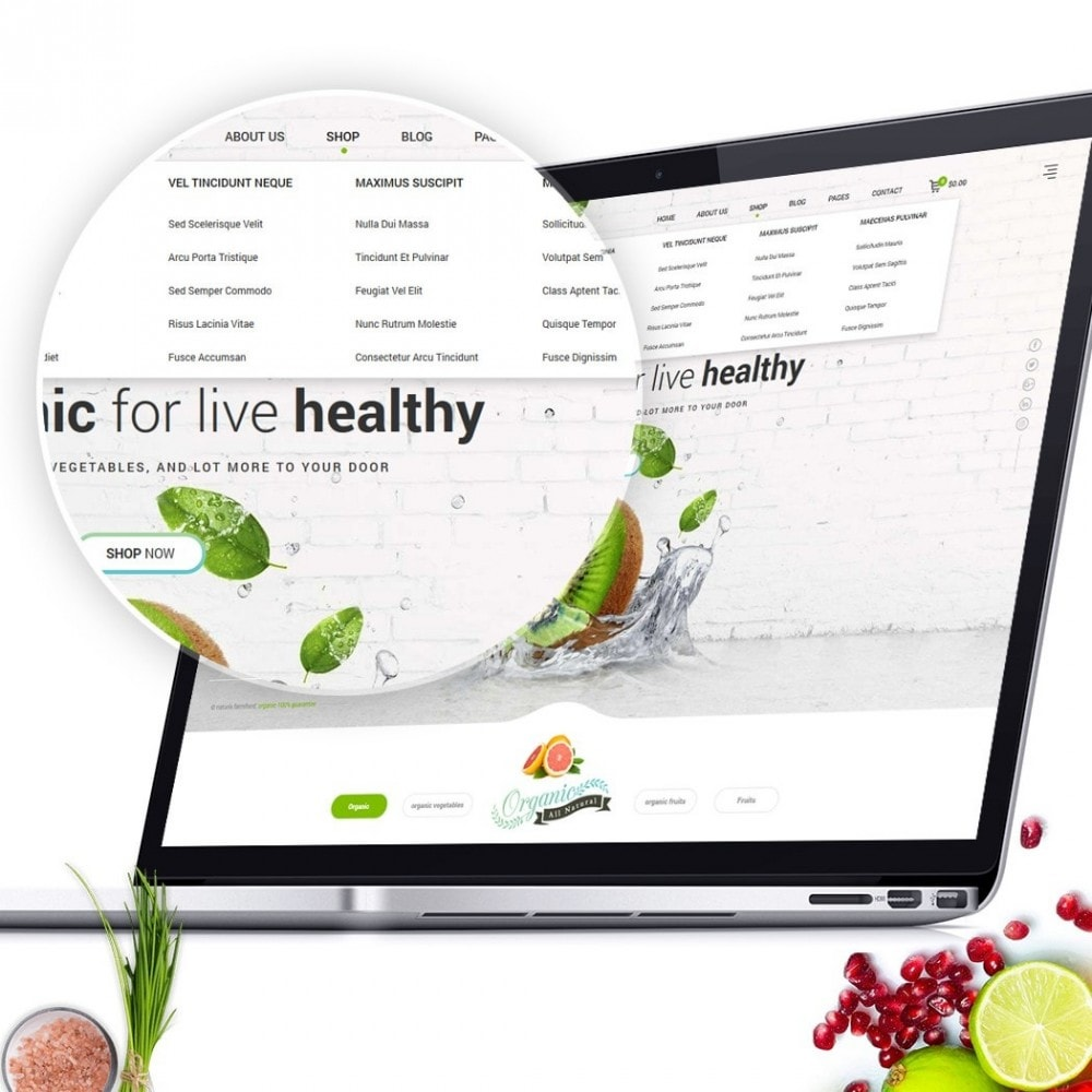 theme - Alimentos & Restaurantes - FoodStore II - 2