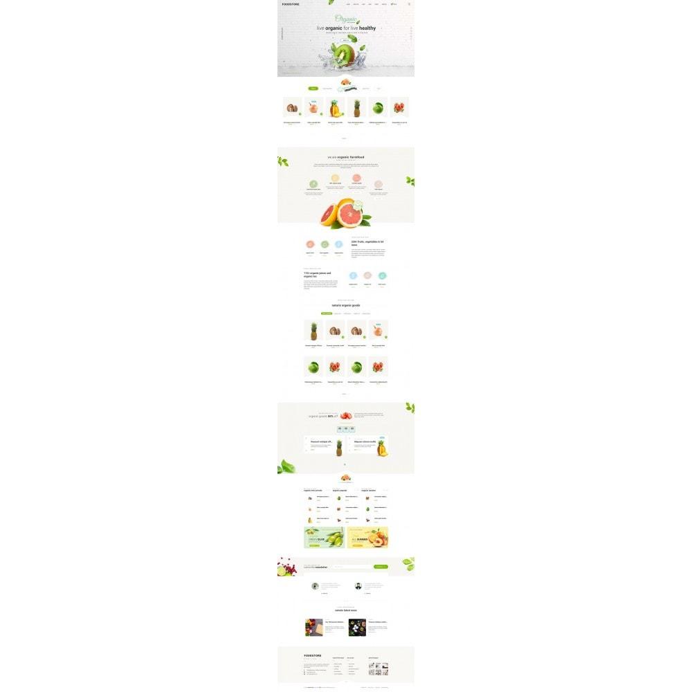 theme - Alimentos & Restaurantes - FoodStore II - 6