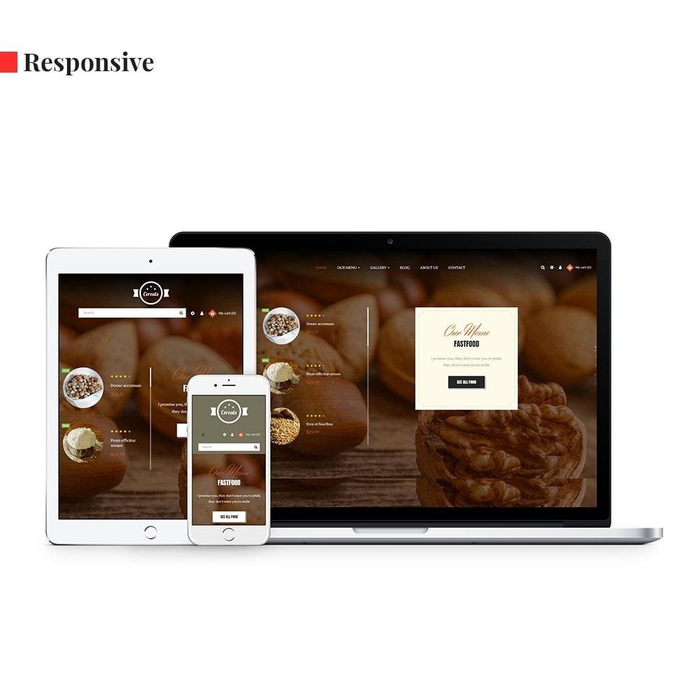 theme - Alimentos & Restaurantes - Leo Cereals - 1