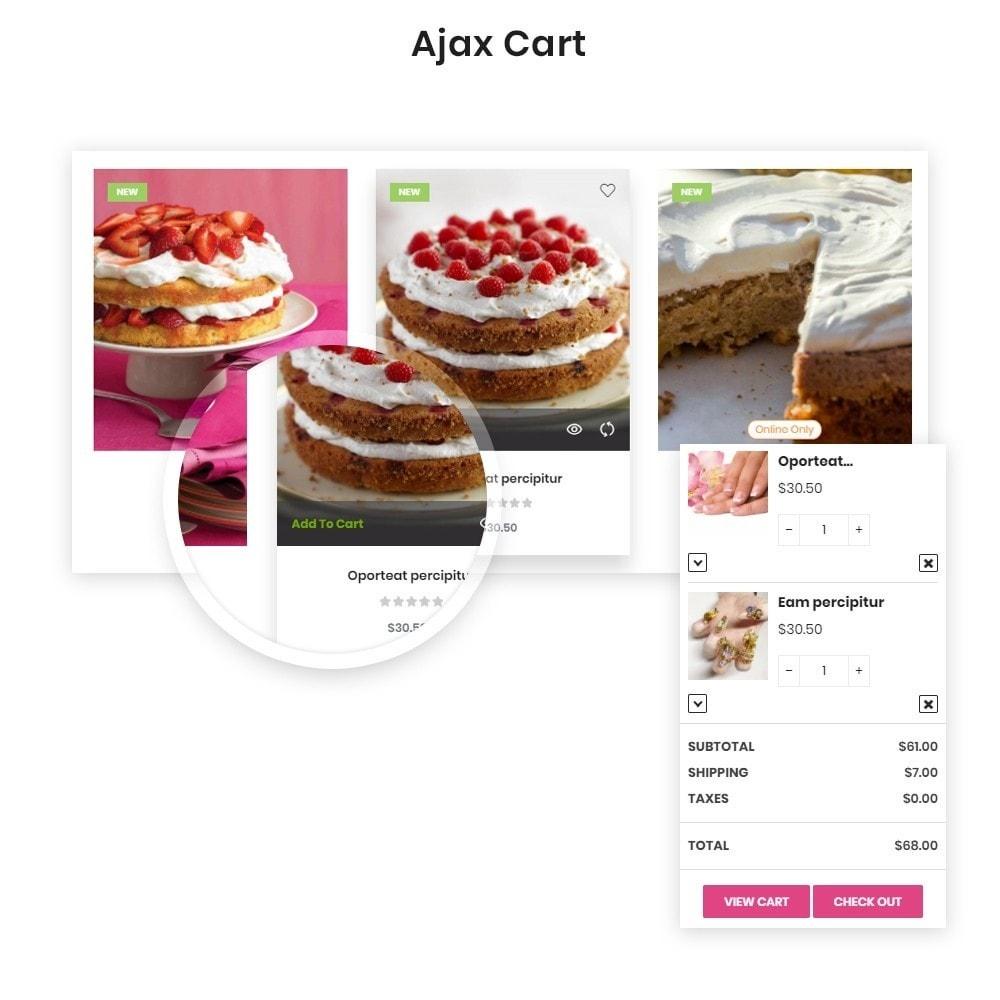 theme - Продовольствие и рестораны - Leo Eros Cake Store - 2