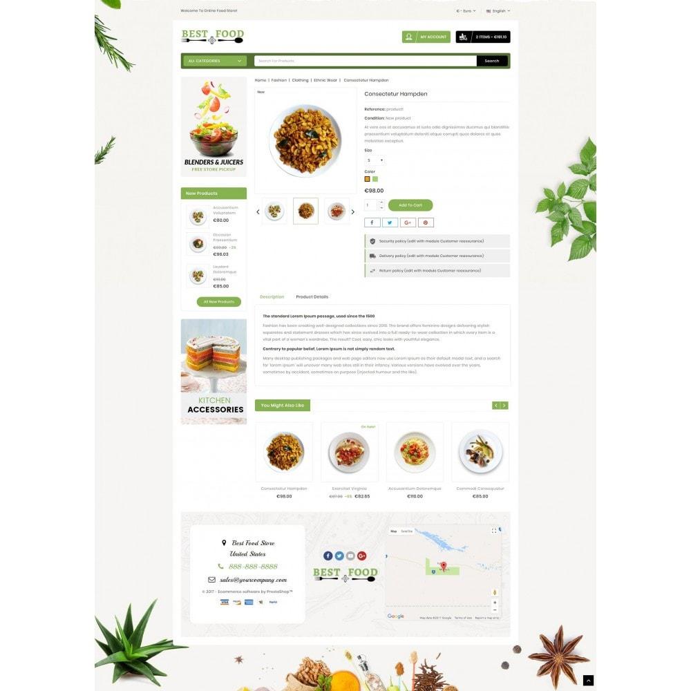 theme - Продовольствие и рестораны - Best Food Store - 5