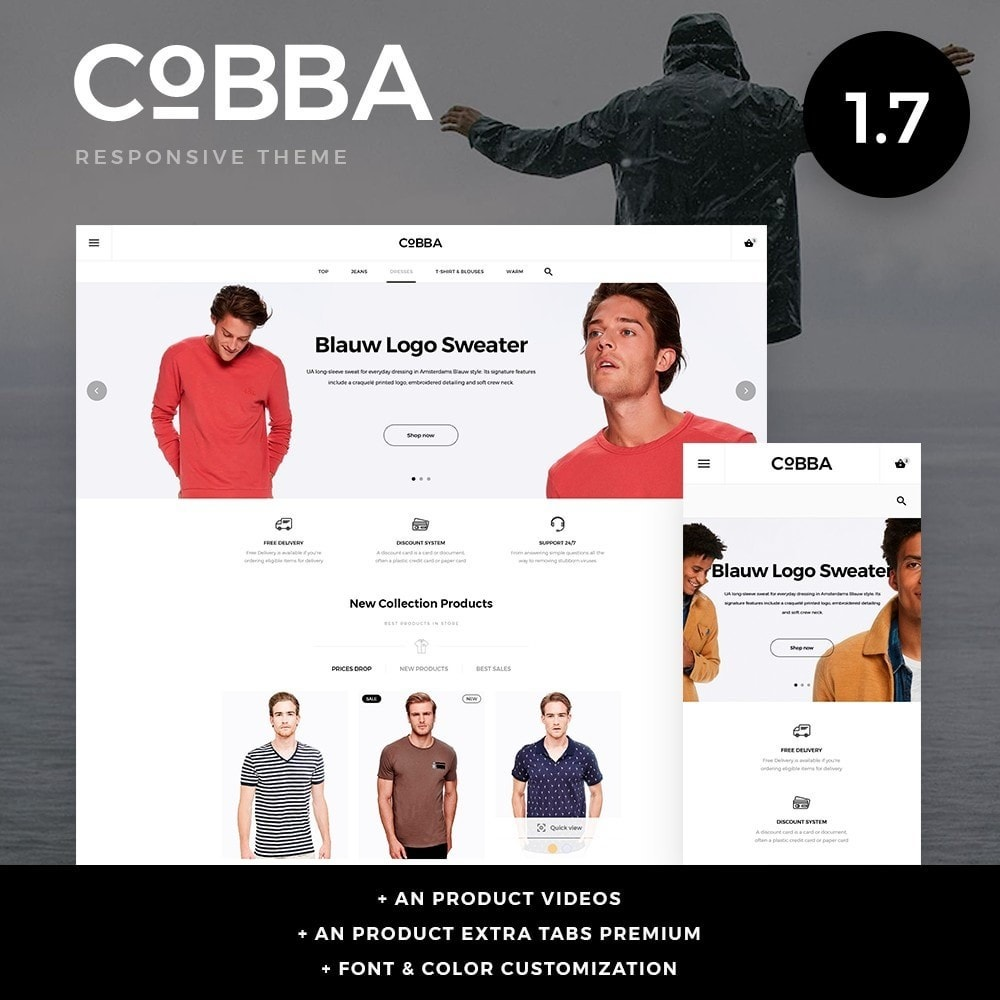 theme - Fashion & Shoes - Cobba Men's Wear - 1